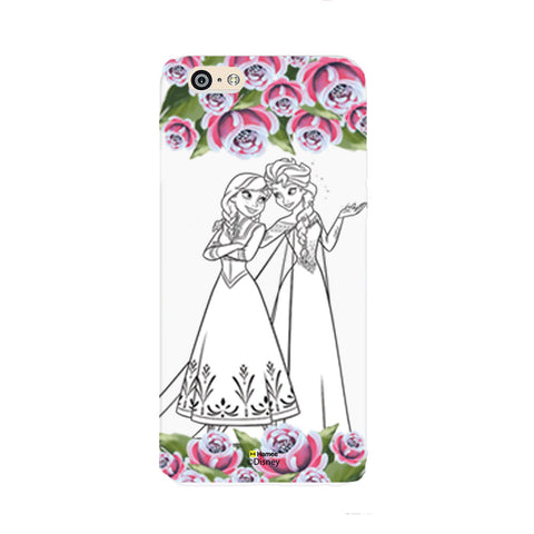 Disney Princess Frozen (Elsa Anna / Roses) iPhone 5 / 5S Cases