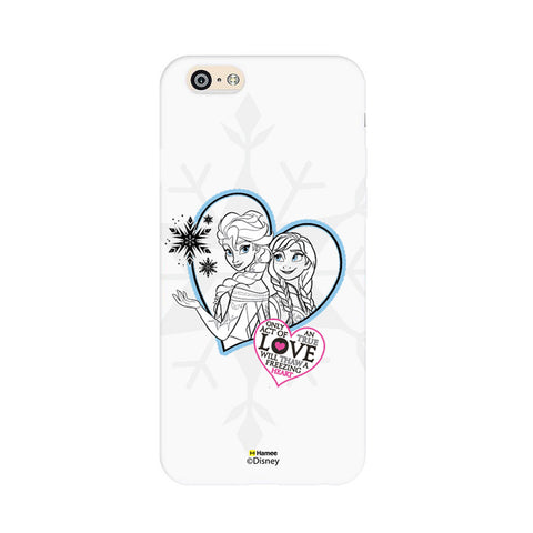 Disney Princess Frozen (Elsa Anna / Hearts) iPhone 6 / 6S Cases