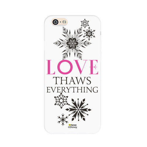 Disney Princess Frozen (Love Thaws Everything) iPhone 6 / 6S Cases