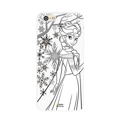 Disney Princess Frozen (Elsa / Outline) iPhone 5 / 5S Cases
