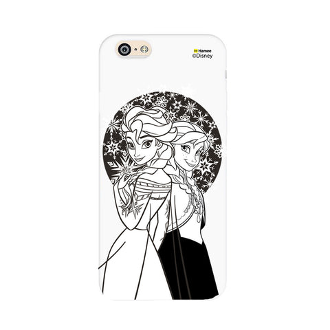 Disney Princess Frozen (Elsa Anna / Black White) iPhone 6 / 6S Cases