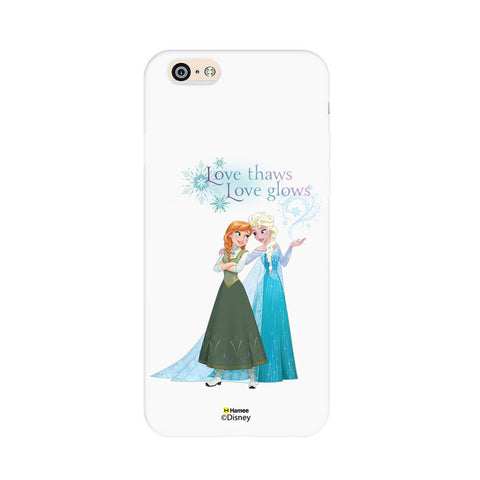 Disney Princess Frozen (Elsa Anna / Love Thaws) iPhone 6 / 6S Cases