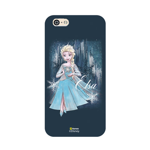 Disney Princess Frozen (Elsa / Blue) iPhone 5 / 5S Cases