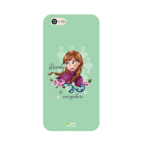 Disney Princess Frozen (Anna / Green Beauty) iPhone 5 / 5S Cases
