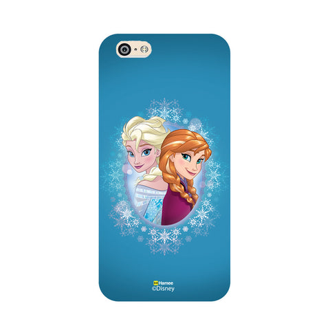 Disney Princess Frozen (Anna Elsa / Blue) iPhone 6 Plus / 6S Plus Covers