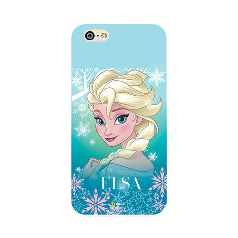 Disney Princess Frozen (Elsa / Light Blue) iPhone 5 / 5S Cases