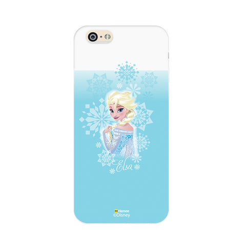 Disney Princess Frozen (Elsa / Light Blue 2) iPhone 5 / 5S Cases