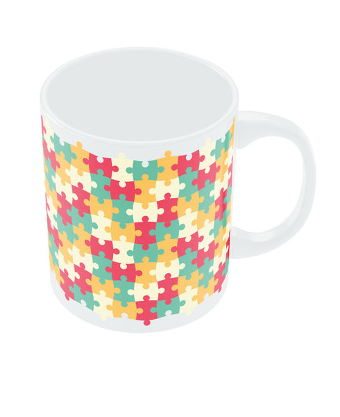 Colorful Jigsaw Mug