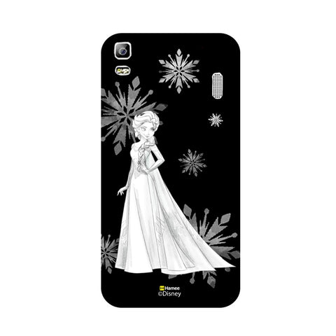 Disney Princess Frozen (Elsa / Black White) Lenovo A7000
