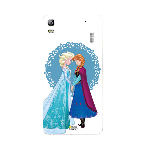 Disney Princess Frozen (Elsa Anna / Blue) Lenovo A7000