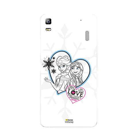 Disney Princess Frozen (Elsa Anna / Hearts) Lenovo A7000