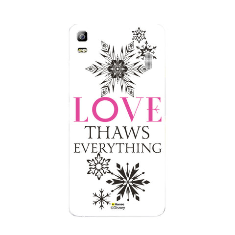 Disney Princess Frozen (Love Thaws Everything) Lenovo A7000