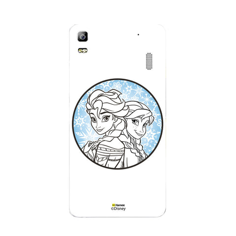Disney Princess Frozen (Elsa Anna / Circle) Lenovo A7000
