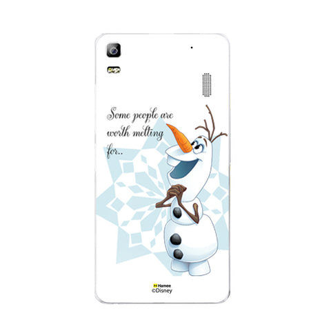 Disney Princess Frozen (Olaf / Melting) Lenovo A7000