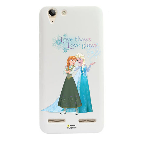 Disney Princess Frozen (Elsa Anna / Love Thaws) Lenovo A6000 / A6000 Plus