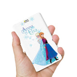 Livtel x Hamee Disney Princess Licensed Frozen 5000 mAh PowerBank with LED indicators and Reversible Micro-USB cable (Anna Elsa / Names)