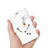 Livtel x Hamee Disney Princess Licensed Frozen 5000 mAh PowerBank with LED indicators and Reversible Micro-USB cable (Olaf / Outline)