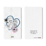 Livtel x Hamee Disney Princess Licensed Frozen 5000 mAh PowerBank with LED indicators and Reversible Micro-USB cable (Anna Elsa / Love)