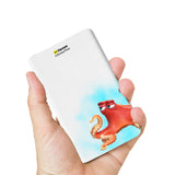 Livtel x Hamee Disney Pixar Licensed Finding Dory 5000 mAh PowerBank with LED indicators and Reversible Micro-USB cable (Hank / Mist)