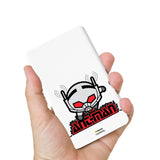 Livtel x Hamee Marvel Licensed Avengers 5000 mAh PowerBank with LED indicators and Reversible Micro-USB cable (Ant Man)