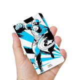 Livtel x Hamee Marvel Licensed Avengers 5000 mAh PowerBank with LED indicators and Reversible Micro-USB cable (Captain America / Blue)