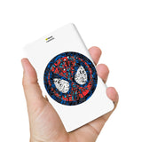 Livtel x Hamee Marvel Licensed Avengers 5000 mAh PowerBank with LED indicators and Reversible Micro-USB cable (Spiderman / Doodles)