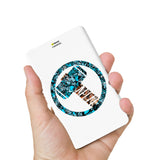 Livtel x Hamee Marvel Licensed Avengers 5000 mAh PowerBank with LED indicators and Reversible Micro-USB cable (Thor / Doodles)