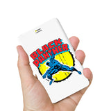 Livtel x Hamee Marvel Licensed Avengers 5000 mAh PowerBank with LED indicators and Reversible Micro-USB cable (Black Panther 2)