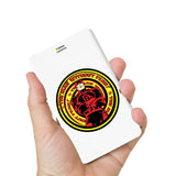 Livtel x Hamee Marvel Licensed Avengers 5000 mAh PowerBank with LED indicators and Reversible Micro-USB cable (Dare Devil)
