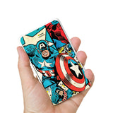 Livtel x Hamee Marvel Licensed Avengers 5000 mAh PowerBank with LED indicators and Reversible Micro-USB cable (Captain America / Comic)