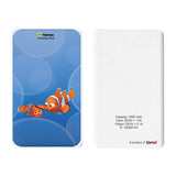 Livtel x Hamee Disney Pixar Licensed Finding Dory 5000 mAh PowerBank with LED indicators and Reversible Micro-USB cable (Nemo Marlin)