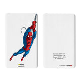 Livtel x Hamee Marvel Licensed The Ultimate Spiderman 5000 mAh PowerBank with LED indicators and Reversible Micro-USB cable (Swinging)