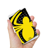 Livtel x Hamee Marvel Licensed The Ultimate Spiderman 5000 mAh PowerBank with LED indicators and Reversible Micro-USB cable (Spider / Yellow)