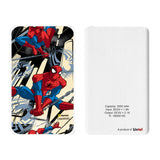 Livtel x Hamee Marvel Licensed The Ultimate Spiderman 5000 mAh PowerBank with LED indicators and Reversible Micro-USB cable (Spiderman / Full)