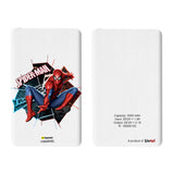 Livtel x Hamee Marvel Licensed The Ultimate Spiderman 5000 mAh PowerBank with LED indicators and Reversible Micro-USB cable (Spiderman / Logo)