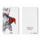 Livtel x Hamee Marvel Licensed The Ultimate Spiderman 5000 mAh PowerBank with LED indicators and Reversible Micro-USB cable (Spiderman / Building)