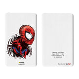 Livtel x Hamee Marvel Licensed The Ultimate Spiderman 5000 mAh PowerBank with LED indicators and Reversible Micro-USB cable (Small Face)