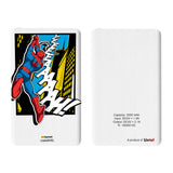 Livtel x Hamee Marvel Licensed The Ultimate Spiderman 5000 mAh PowerBank with LED indicators and Reversible Micro-USB cable (Yeah Comic)