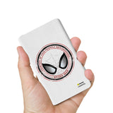 Livtel x Hamee Marvel Licensed The Ultimate Spiderman 5000 mAh PowerBank with LED indicators and Reversible Micro-USB cable (Stamp)