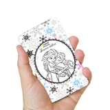 Livtel x Hamee Disney Princess Licensed Frozen 5000 mAh PowerBank with LED indicators and Reversible Micro-USB cable (Anna Elsa / Forever)