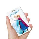 Livtel x Hamee Disney Princess Licensed Frozen 5000 mAh PowerBank with LED indicators and Reversible Micro-USB cable (Anna Elsa / Logo)
