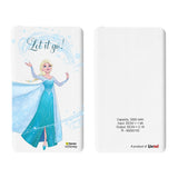Livtel x Hamee Disney Princess Licensed Frozen 5000 mAh PowerBank with LED indicators and Reversible Micro-USB cable (Elsa / Let It Go)