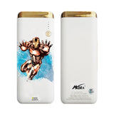 MORA x Hamee Designer Marvel Licensed 13000 mAh BIS Certified Colour Changing LED Light Torch Power Bank (Avengers Iron Man / Watercolour)