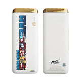 MORA x Hamee Designer Marvel Licensed 13000 mAh BIS Certified Colour Changing LED Light Torch Power Bank (Avengers / Iron Man)