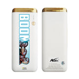 MORA x Hamee Designer Marvel Licensed 13000 mAh BIS Certified Colour Changing LED Light Torch Power Bank (Avengers Iron Man / Boom)