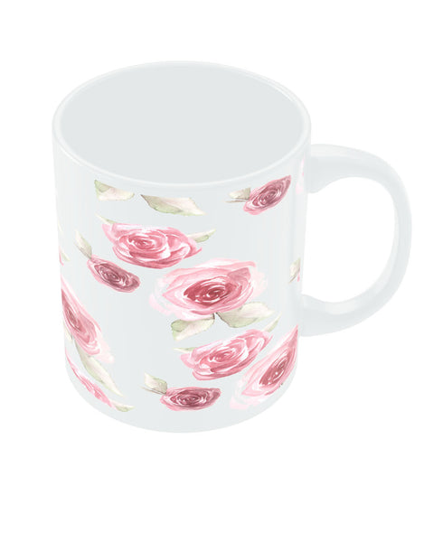 PosterGuy pink Flower Pretty White Ceramic Coffee Mug