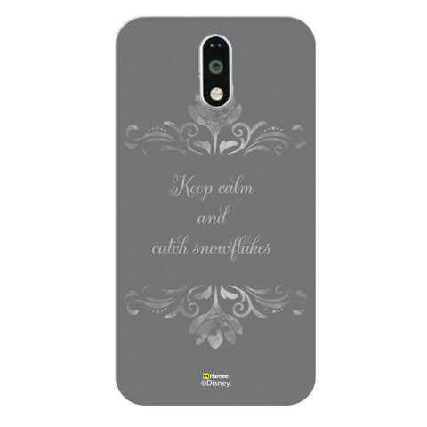 Disney Princess Frozen (Catch Snowflakes) Moto G4 Plus
