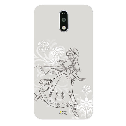 Disney Princess Frozen (Anna / Sketch) Moto G4 Plus
