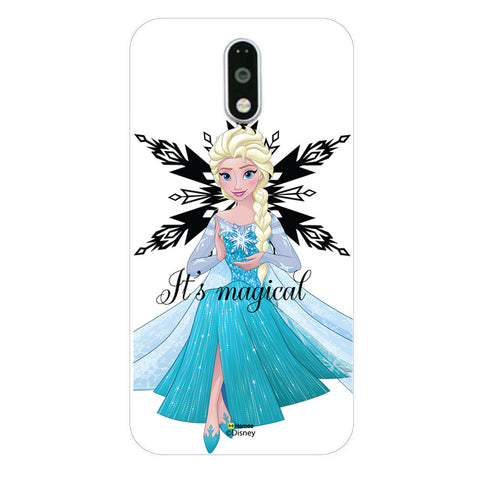 Disney Princess Frozen (Elsa / Magical) Moto G4 Plus