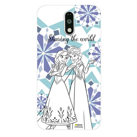 Disney Princess Frozen (Elsa Anna / Sharing) Moto G4 Plus